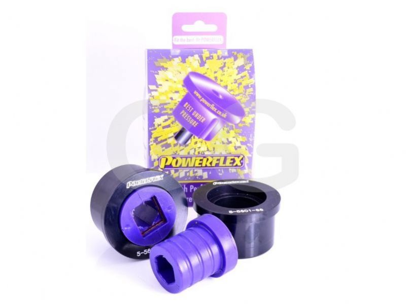 Powerflex Front Wishbone Rear Bush Caster Offset BMW M3 E46 x2 Bushes Car Kit PFF5-5601GM3